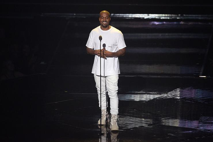 Kanye West performs onstage during the 2016 MTV Video Music Awards at Madison Square Garden on August 28, 2016 in New York City.
