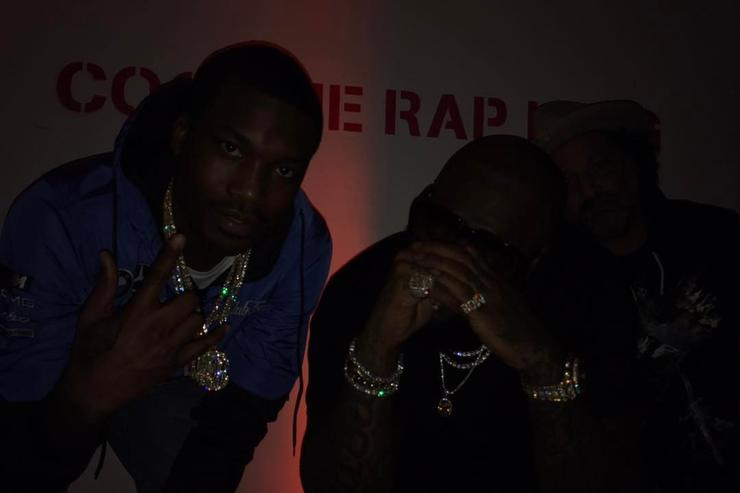 Rick Ross Rapper told Meek Mill not to trust Nicki Minaj