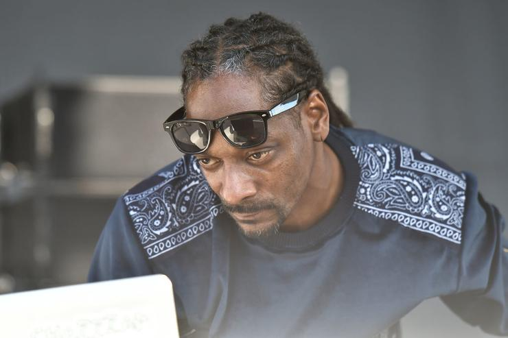 Snoop Dogg peforms at Goya Foods' Grand Tasting Village Featuring Mastercard Grand Tasting Tents & KitchenAid Culinary Demonstrations on February 25, 2017 in Miami Beach, Florida.