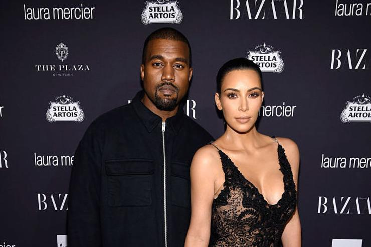 Kanye West and Kim Kardashian West attend Harper's Bazaar's celebration of 'ICONS By Carine Roitfeld' presented by Infor, Laura Mercier, and Stella Artois at The Plaza Hotel on September 9, 2016 in New York City.