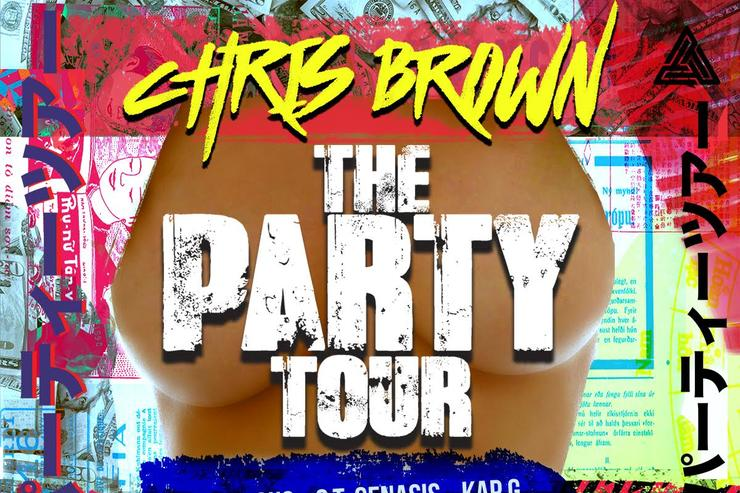 The Party Tour Flyer