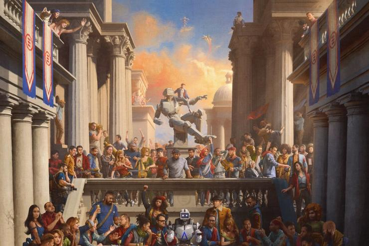 "Logic ""Everybody"" album cover"