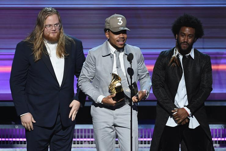 Chance the Rapper 59th GRAMMY Awards