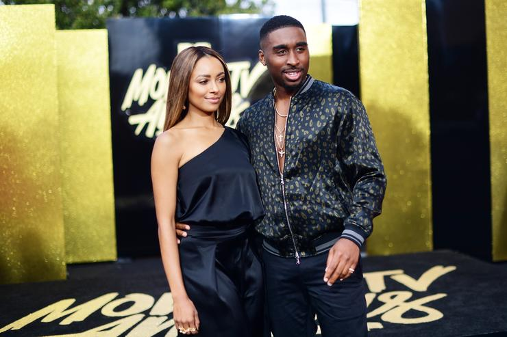 Demetrius Shipp Jr. at MTV Movie & TV Awards 2017