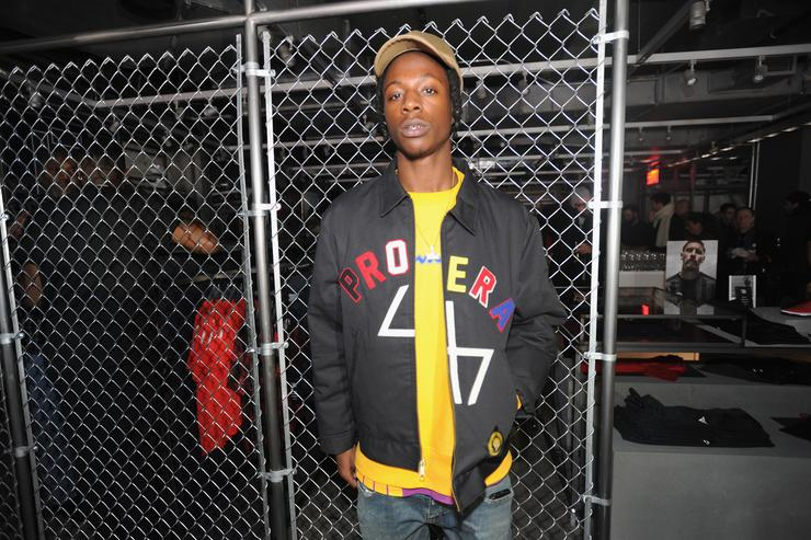 Joey Bada$$ adidas New York Flagship Preview Party