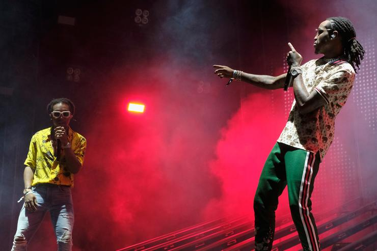 Quavo 2017 Coachella Valley Music And Arts Festival - Weekend 1 - Day 2