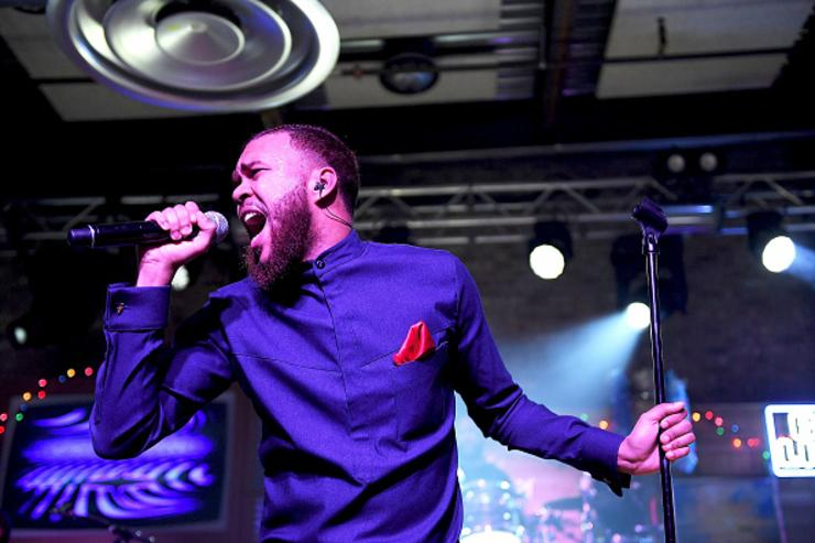 Jidenna performing at SXSW