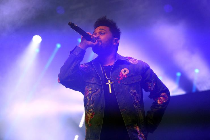 Weeknd 2017 Coachella Valley Music And Arts Festival - Weekend 1 - Day 2