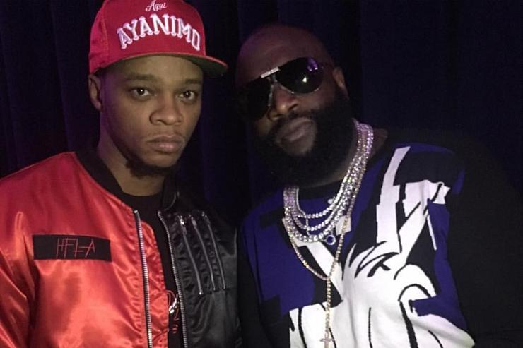 Papoose and Rick Ross