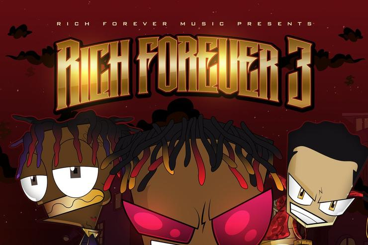 "album cover for ""Rich Forever 3"""