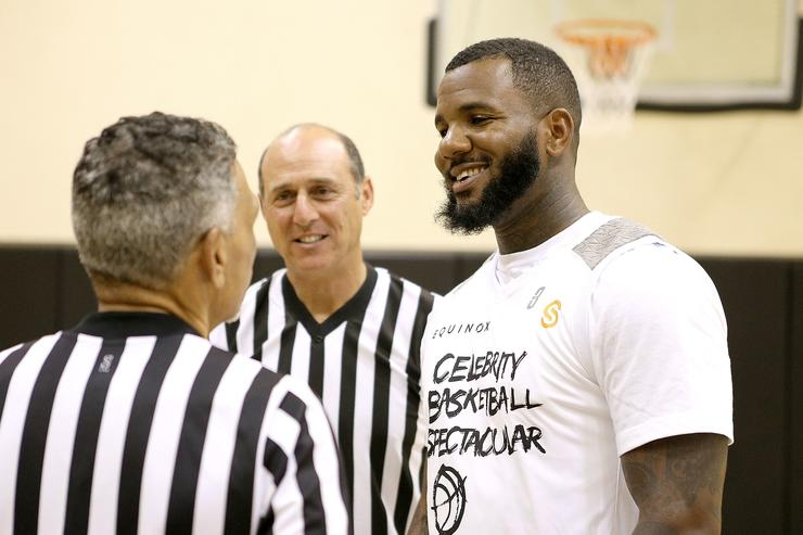 The Game at Celebrity Basketball Spectacular 2015
