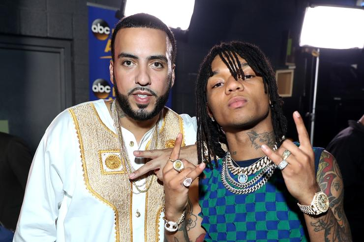 French Montana and Swae Lee at the BET Awards