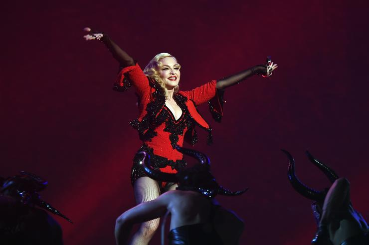 Madonna The 57th Annual GRAMMY Awards - Telecast