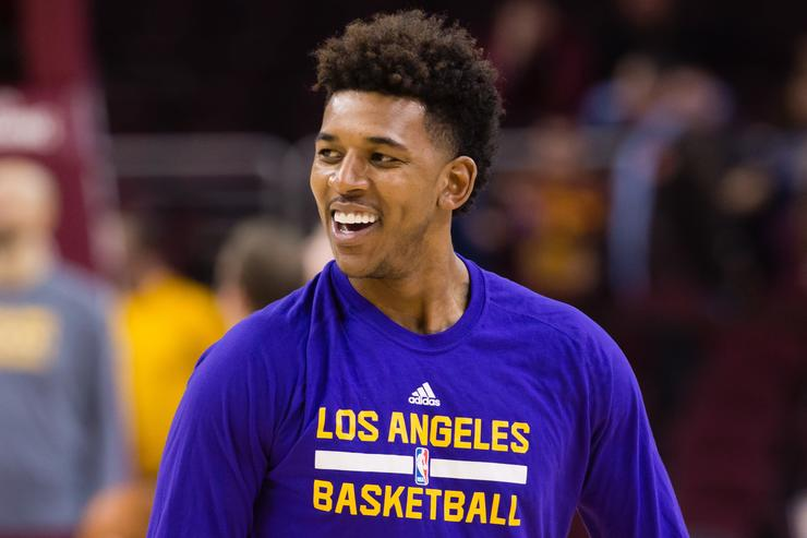 Nick Young Los Angeles Lakers v Cleveland Cavaliers
