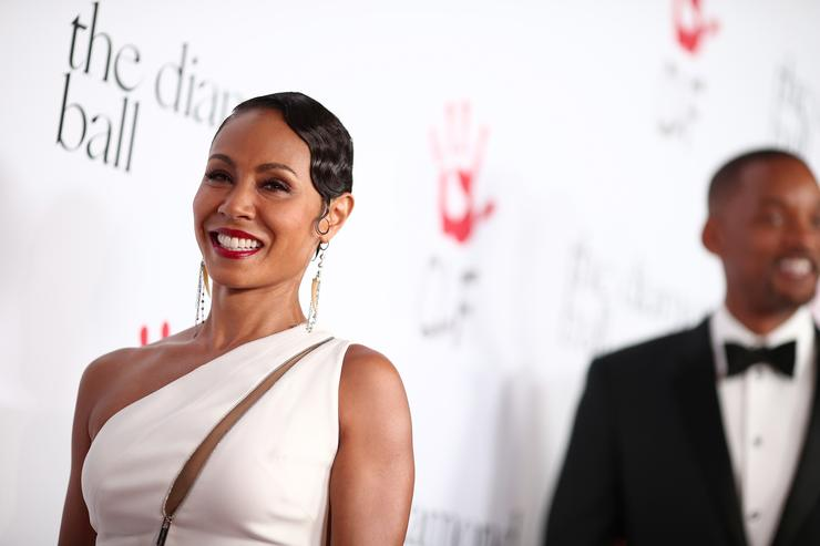 Jada Pinkett Smith Rihanna and The Clara Lionel Foundation Host 2nd Annual Diamond Ball - Red Carpet
