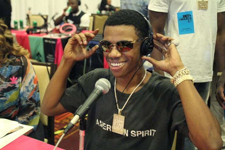 A Boogie Wit Da Hoodie 2017 BET Awards - Radio Broadcast Center - Day 2