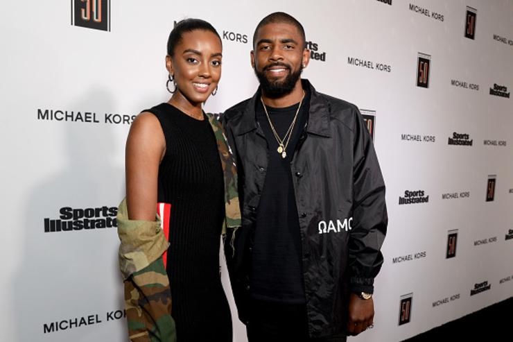 Kyrie and his sister Asia at SI's Fashionable 50 event