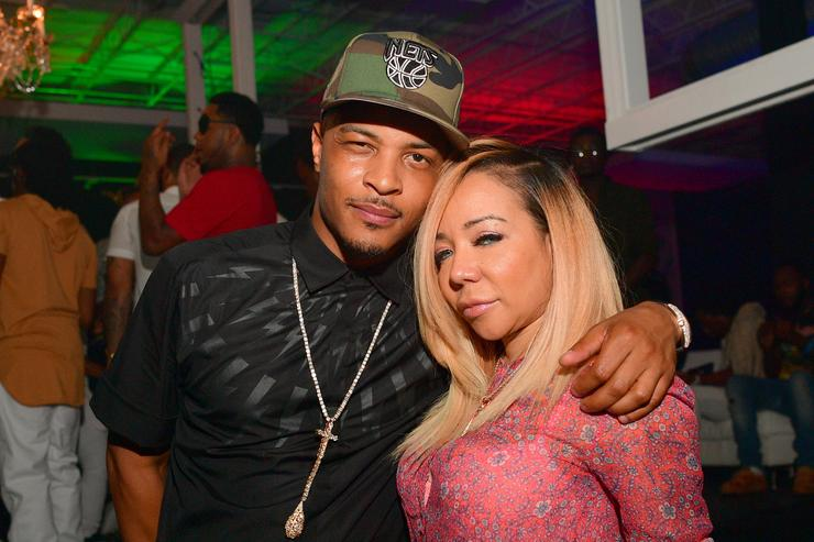 TI & Tiny at Young Thug's 25th bday party