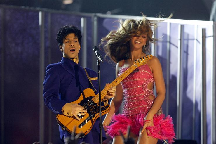 Beyonce Prince 46th Annual Grammy Awards - Show