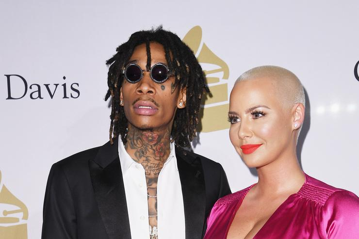 Wiz Khalifa's Mum Sues Amber Rose for Calling Her a Bad Mother