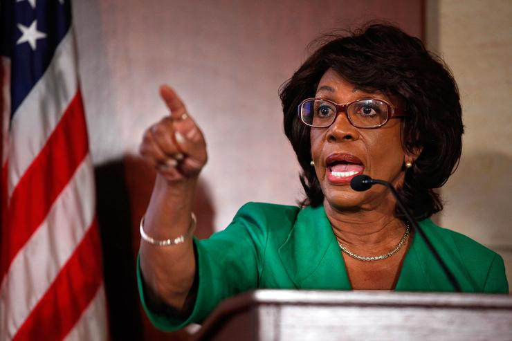 Embattled Rep. Maxine Waters (D-CA) Addresses The Media