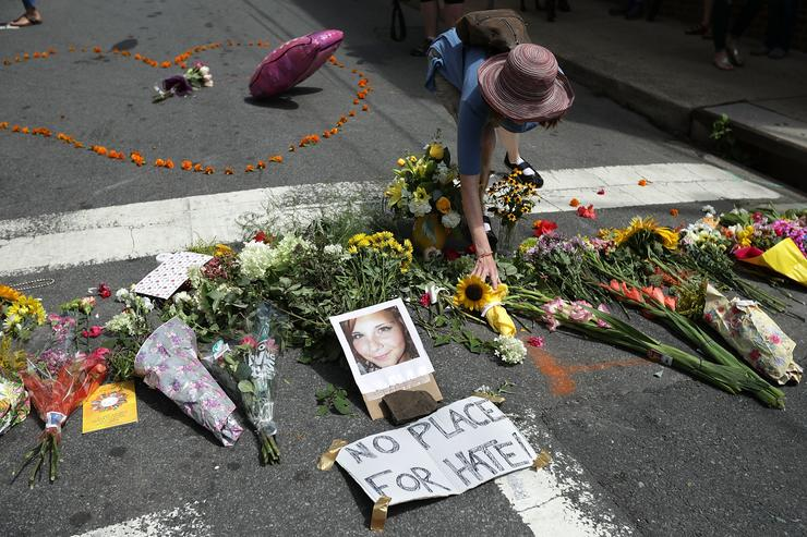 Community Of Charlottesville Mourns, After Violent Outbreak Surrounding Saturday's Alt Right Rally